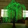 安徽合肥商場戶外亮化裝飾led掛樹閃彩燈廠家 仿真樹燈 戶外亮化工程