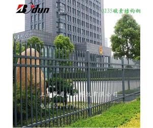 博盾锌钢围墙护栏可定制别墅围墙栏杆
