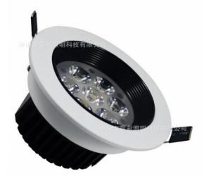 欧普同款led防眩天花灯 烤白漆天花射灯 9W工程射灯筒灯