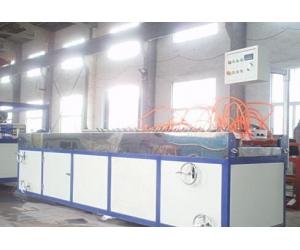 供应PVC木塑地板生产线设备机器挤出机组塑料机械