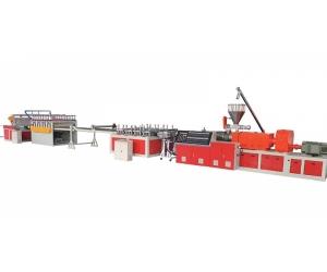 PVC木塑建筑模板生产线设备机器挤出机组塑料机械