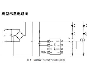 三段调节色温高压线性恒流icSM2200P方案