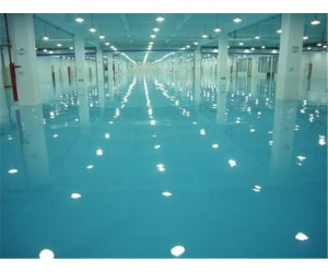 供应广东优质环氧自流平地坪施工 工业地板漆施工涂刷