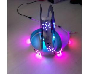24v5050全彩LED烟花灯条80灯一米北京上海天津批发