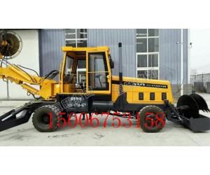 轮式旋挖钻机 小型旋挖钻机  轮式旋挖打井钻机价格