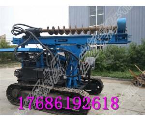 多功能履带式液压打桩机 打桩机厂家    国道打桩机